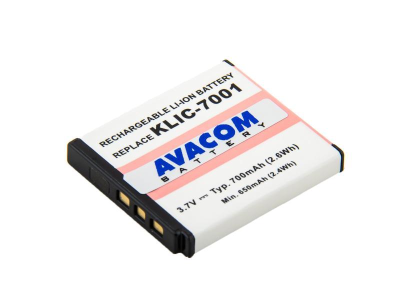 d3a7af6d4 Kodak KLIC-7001 Li-Ion 3.7V 700mAh 2.6Wh - DIKO-7001-533N2   AVACOM ...