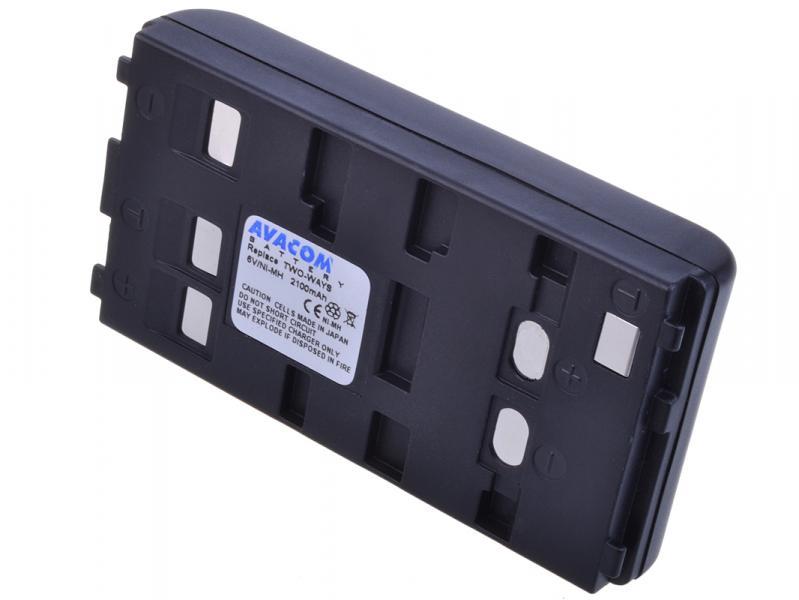 Two Ways Ni-MH 6V 2000mAh 12.6Wh univerzální pro starší typy kamer